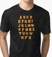 ABC O Pizza Tri-blend T-Shirt
