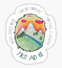 First Aid Kit - My Silver Lining Sticker