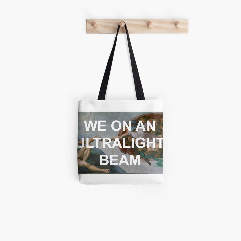 We On An Ultralight Beam Tote Bag