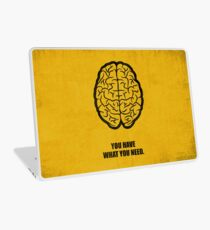 You Have What You Need - Short Inspirational Quotes Laptop Skin