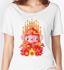 Fire Monkey Year Women's Relaxed Fit T-Shirt