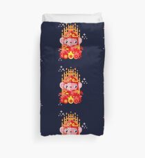 Fire Monkey Year Duvet Cover