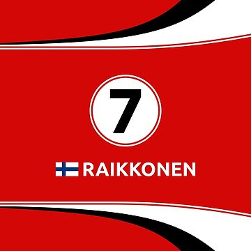 F1 2016 - #7 Raikkonen by sednoid