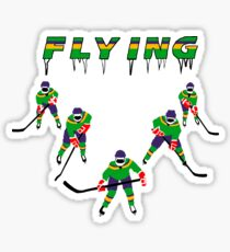 Mighty Ducks Flying ''V'' Sticker