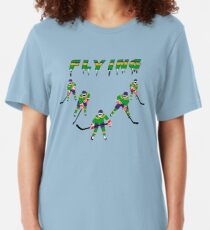 Mighty Ducks Flying ''V'' Slim Fit T-Shirt