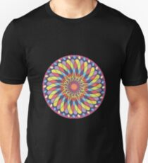 Geometric Grafic Color Cirkle  Unisex T-Shirt