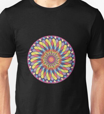 Geometric Grafic Color Cirkle  Unisex T-Shirt