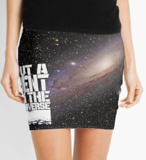 Put A D(J)ent In The Universe 2.0 Mini Skirt
