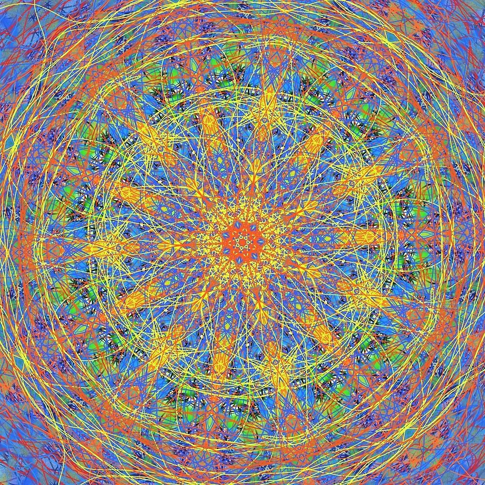 Kaleidoscope Mandala Number One by smoothimages