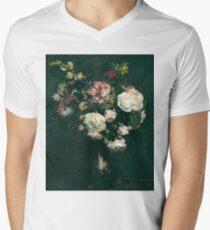 Henri Fantin-Latour - Vase of Flowers . Flowers , Bouquet of Flowers T-Shirt