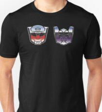 Optimus Mario versus Bowsertron Unisex T-Shirt