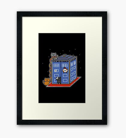 Who Atsume Framed Print