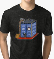 Who Atsume Tri-blend T-Shirt