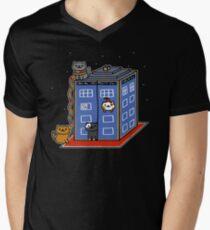 Who Atsume Men's V-Neck T-Shirt
