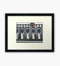 Seafaring Men - Seeleute Framed Print