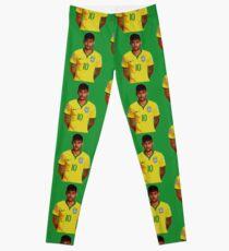 Neymar - Brazil 2014 Leggings