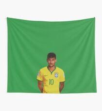 Neymar - Brazil 2014 Wall Tapestry