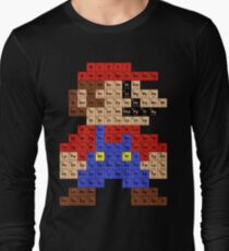 Periodic Mario Table Long Sleeve T-Shirt