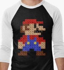 Periodic Mario Table Men's Baseball ¾ T-Shirt