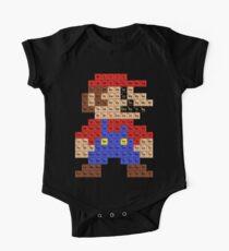 Periodische Mario Tabelle Baby Body Kurzarm