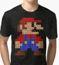 Periodic Mario Table Tri-blend T-Shirt