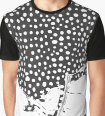 Modern Artistic Abstract Snow Scene Graphic T-Shirt