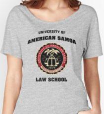 Universität von Amerikanisch-Samoa Loose Fit T-Shirt