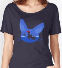 Kiki and Jiji's Flight Women's Relaxed Fit T-Shirt