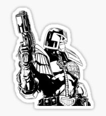 Judge Dredd Sticker