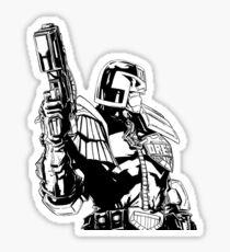 Judge Dredd Sticker
