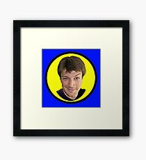 Captain Hammer Groupie Framed Print
