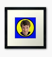 Captain Hammer Groupie Framed Print