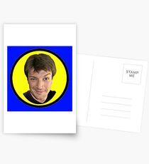 Captain Hammer Groupie Postcards