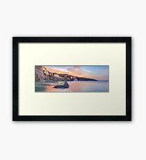 Sorrento Sunset Framed Print