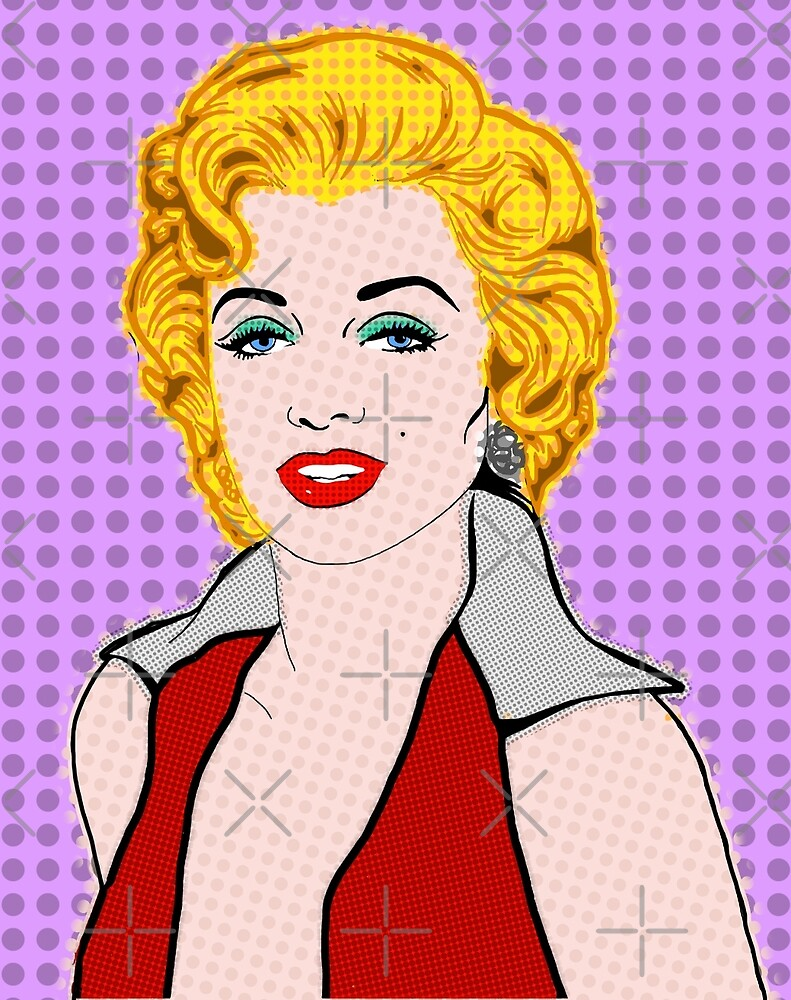 Marilyn Monroe By BlissNights by mikesbliss