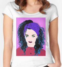 Boy George By BlissNights Women's Fitted Scoop T-Shirt