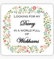Mr. Darcy Sticker