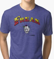 "Marauder Wear ""Freak"" Tee  Tri-blend T-Shirt"