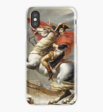 Jacques-Louis David - Bonaparte . The Emperor Napoleon , Napoleon, Fashion Portrait iPhone Case/Skin