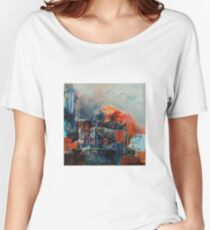 Sacre, featured in Painters Universe, AbstractSurrealArt Women's Relaxed Fit T-Shirt