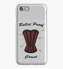 Bulletproof Corset iPhone Case/Skin