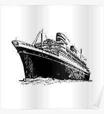 Ocean Liner Poster
