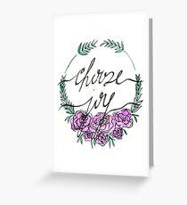 Choose Joy Greeting Card