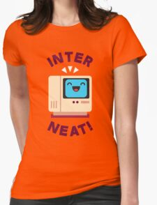 Interneat!  Womens Fitted T-Shirt
