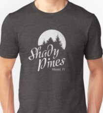 Golden Girls TV Show Fan Art - Shady Pines Unisex T-Shirt
