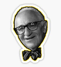 Murray Rothbard Anarcho-Capitalist Sticker