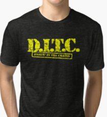 DITC crew replica Rawkus tshirt - Diggin in the crates late 90s Tri-blend T-Shirt