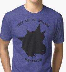 Armordillo king! Tri-blend T-Shirt