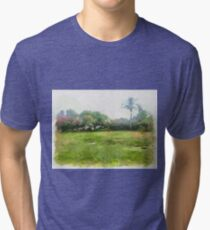 grass Tri-blend T-Shirt