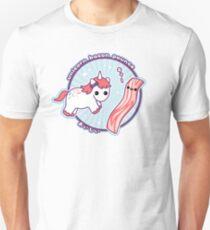 Unicorn Bacon Pounce Unisex T-Shirt